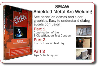 Order Welder test day preparation DVD